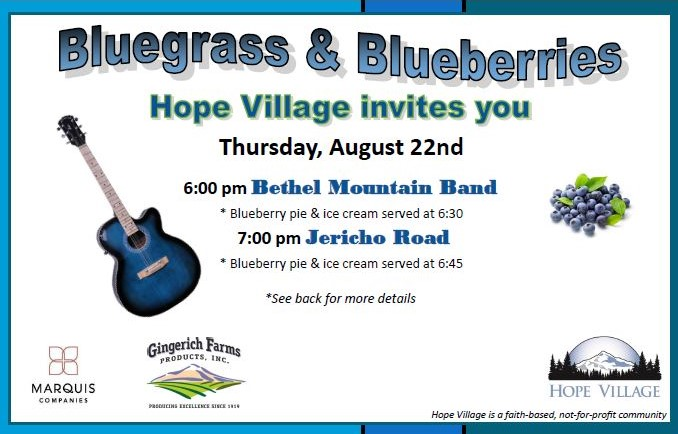 Bluegrass and Blueberries