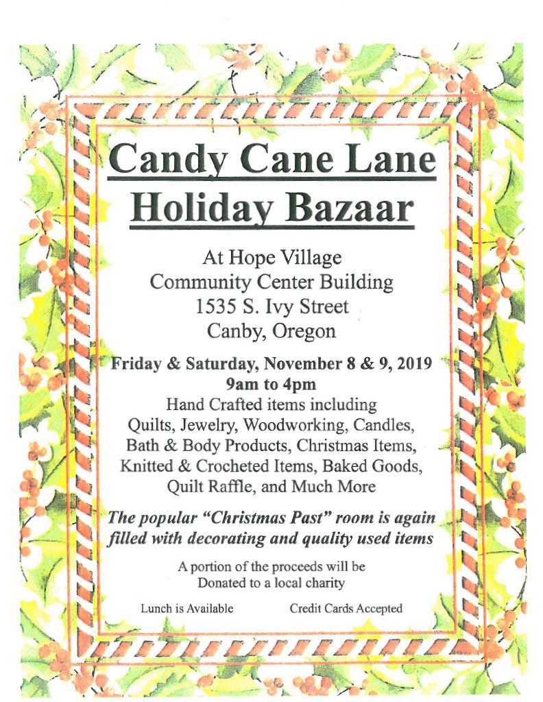 Candy Cane Lane Holiday Bazaar